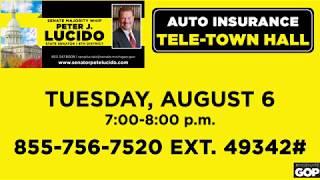 Sen. Lucido announces auto insurance tele-town hall