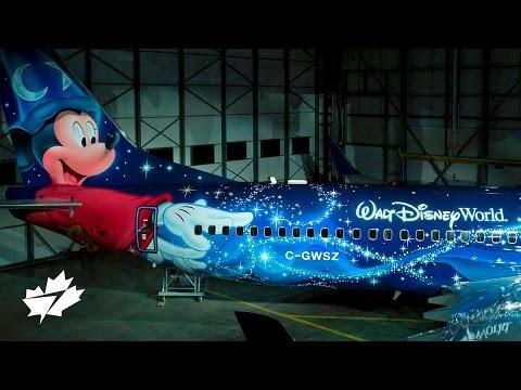 Unveiling the WestJet #MagicPlane