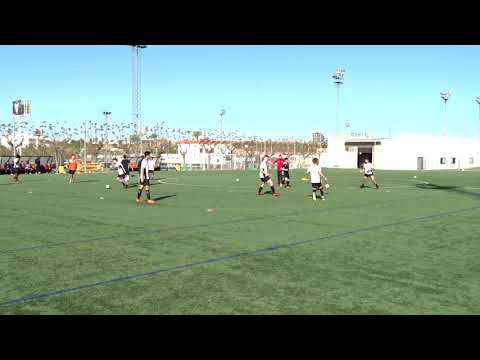 Part 2 - 17 Apr 18, GPS IA Training at VCF, Rondos and Possession Game