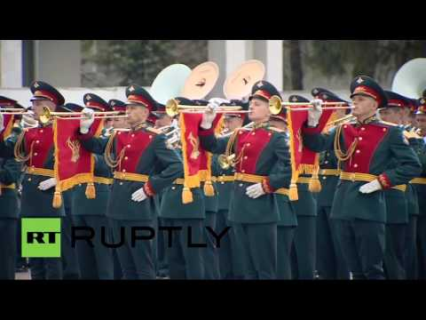 Russian Army Parade Rehearsal Concert 2016
