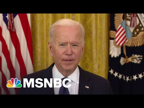President Joe Biden Says FBI Is 'Engaged' To Assess, Address Colonial Pipeline Cyberattack | MSNBC