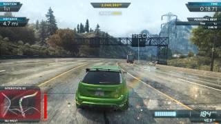 NFS Most Wanted 2012: Fully Modded Pro Ford Focus RS500 | Most Wanted List #4 Lamborghini Aventador
