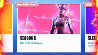 *NEW* Season 6 BATTLE PASS Update! Fortnite SEASON 6 Battle Pass Skins! (Fortnite Season 6 Theme)