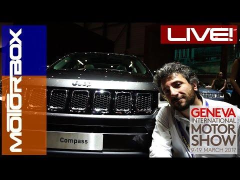 Jeep Compass 2017 in video dal Salone di Ginevra 2017