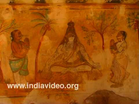Thanjavur paintings, Brihadeeswara temple
