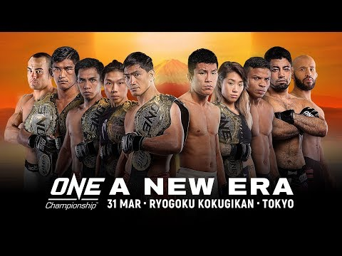Event ONE Championship: ONE A NEW ERA