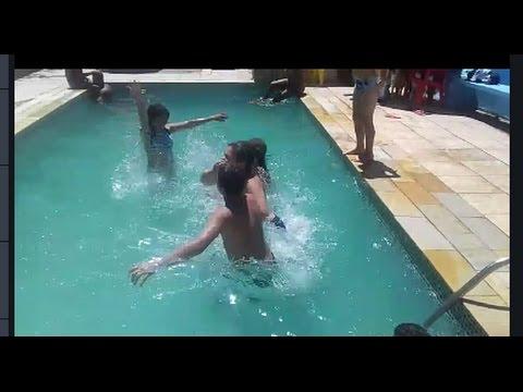 Socorro Quase Morri Afogada Desafio Da Piscina Vlog 3
