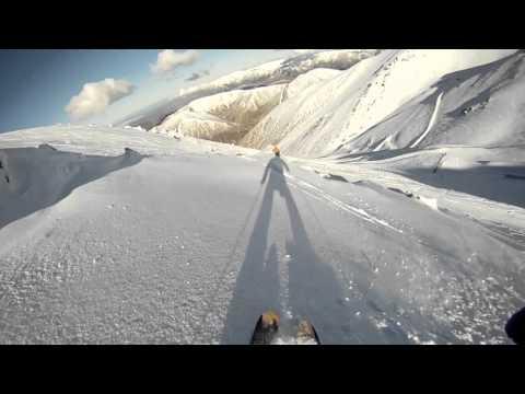 Fischer Watea 88 2013 - Porters Powder Skiing New Zealand - Go Pro HD