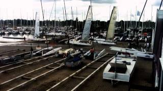 Timelapse Ronstan 2011 A Class Catamaran World Championship