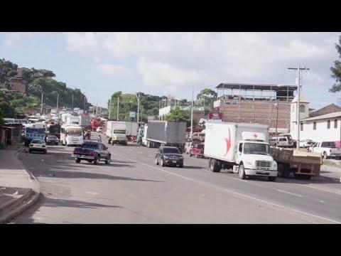 Transportistas hondureños suspenden bloqueos en carreteras
