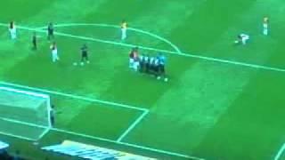 Selçuk İnan'ın mükemmel frikik golü (GS-Manisa 21.12.2011)