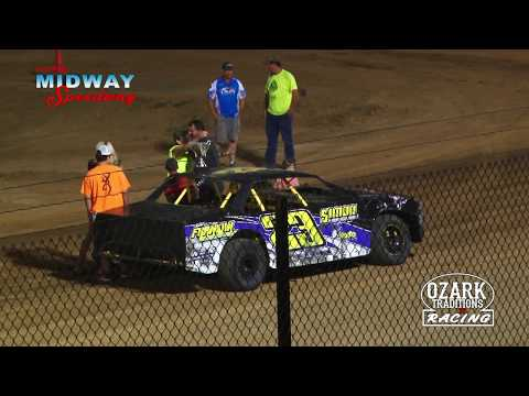 LEBANON MIDWAY SPEEDWAY-BOMBER  FEATURE - MIDWAY -  7/6 /18