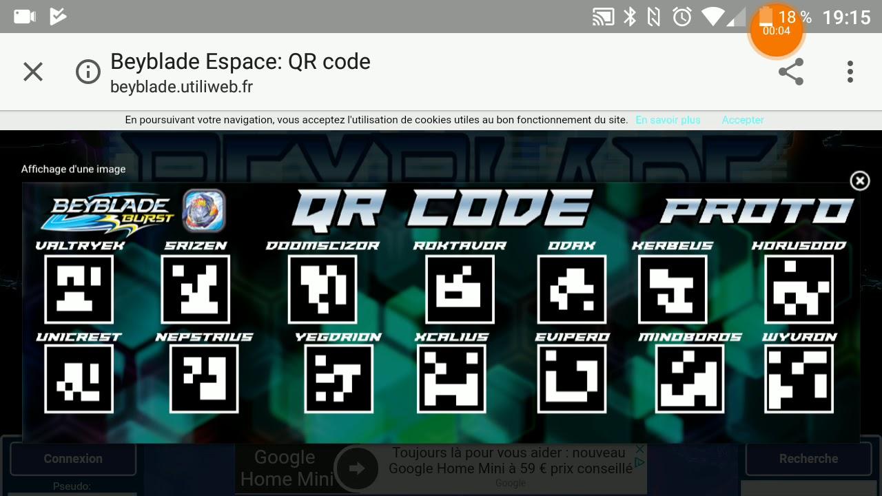Download Lagu Des Qr Code Pour Beyblade Burst Le Jeu