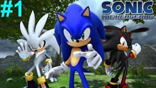Sonic The Hedgehog (06) PS3 Gameplay #1 [Sonic vs Silver, Battle Of The Hedgehogs]