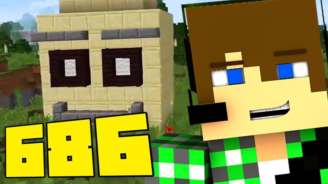 Minecraft ita 686 perso la testa youtube for Minecraft da colorare