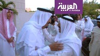 مبعوث من أمير الكويت في السعودية وبعدها إلى مصر