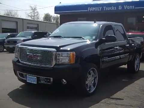 Family Trucks and Vans 2008 GMC Sierra Denali Stock B21050 - YouTube
