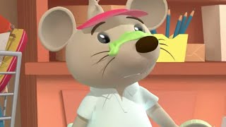 What's on Rats Nose? - Cartoon Jumble - Bananas In Pyjamas Official
