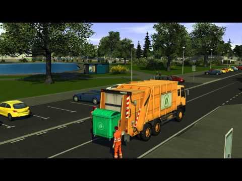 Recycle - Müllabfuhr Simulator 2014 - Offizieller Trailer
