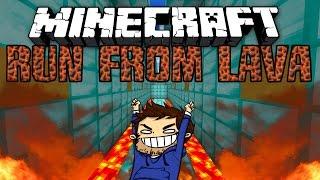 "Minecraft SUPER LAVA RUN #2 ""LACHLAN VS WOOFLESS"" w/ Preston, Lachlan, and MrWoofless"