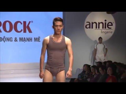 Trình diễn thời trang quần lót nam Aristino, quần lót nam  Rock
