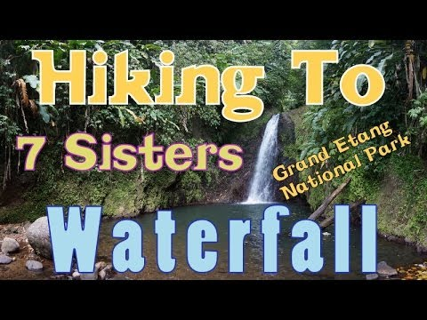 Hiking To Seven Sisters Waterfall In Grand Etang, Grenada