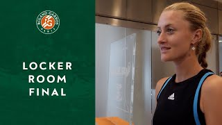 Inside Roland-Garros - The Locker Room | Roland-Garros 2019