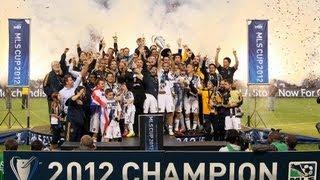 Beckham, Donovan, LA Galaxy Crowned MLS Cup 2012 Champions