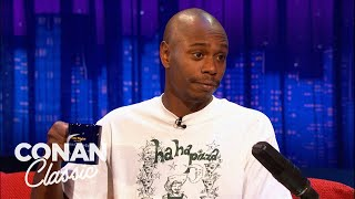 "Dave Chappelle Doesn't Mind Being Called Crazy - ""Late Night With Conan O'Brien"""