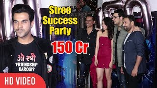 Stree Team Celebrates 150 Crores Box Office Collection   Shraddha Kapoor, Rajkummar Rao