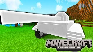HOW TO GET A TANK IN MINECRAFT! (Minecraft Pocket Edition)