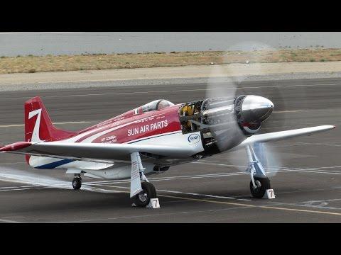 P-51 Mustang 'Strega' practice and qual Reno 2015