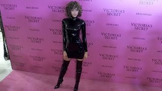 Alanna Arrington on the Pink Carpet after the Victoria Secret Fashion Show in Shanghai