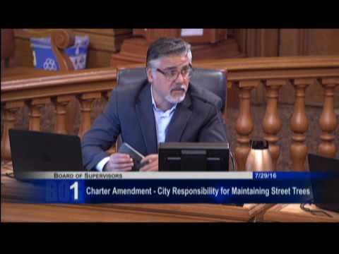 City and County of San Francisco Tuesday, July 29, 2016