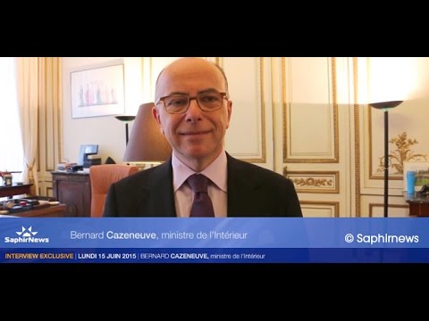 Interview exclusive de Bernard Cazeneuve pour Saphirnews