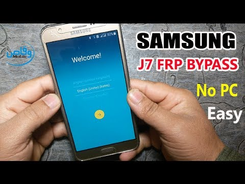 Samsung Galaxy J7 Frp Unlock Without Pc 2019 Verify Your Google Account By Waqas Mobile