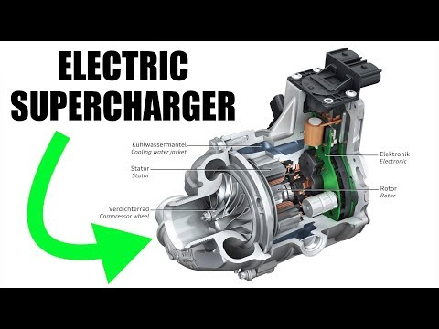 Audi's Turbo Lag Solution - Electric Supercharger