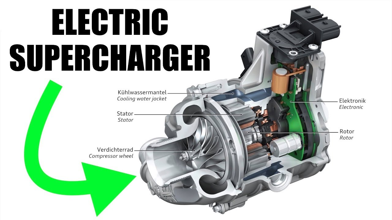 Electric Superchargers How Audi Is Eliminating Turbo Lag