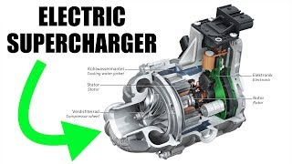 Electric Superchargers - How Audi Is Eliminating Turbo Lag