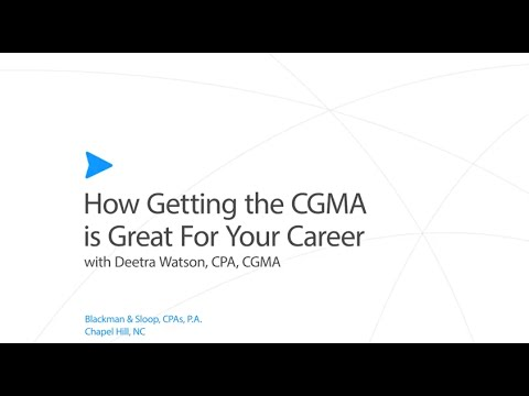 How Getting the CGMA is Great For Your Career