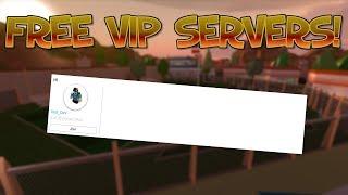 ROBLOX JAILBREAK GRATIS VIP SERVERS! [SOLO UN MESE]