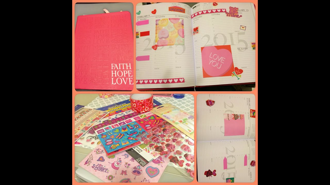 Planner haul como decorar tu agenda youtube - Como decorar una agenda ...