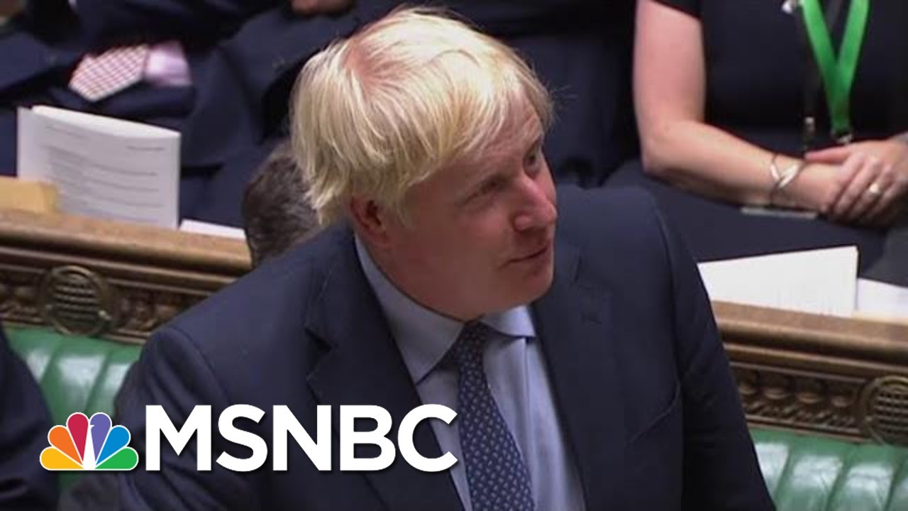 British Politicians Revolt Against PM Boris Johnson On Brexit | The Last Word | MSNBC