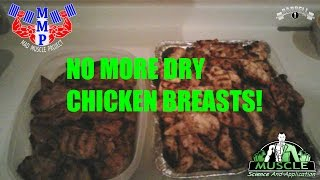 How to Grill Really Juicy Chicken Breasts in Bulk: Mad MUSCLE Project Ep 1 by Barbell1.com