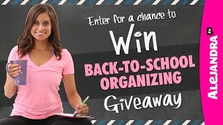 Back-to-School Giveaway 2014-2015 Thumbnail