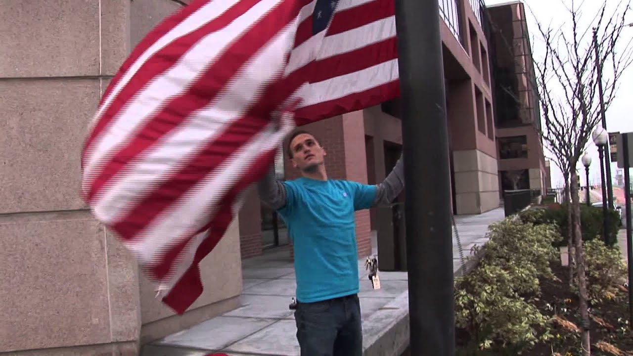 Flag Washing and Repair (by Colonial Flag Foundation)