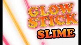 Glow Sticks - How to make glow in the dark slime #1