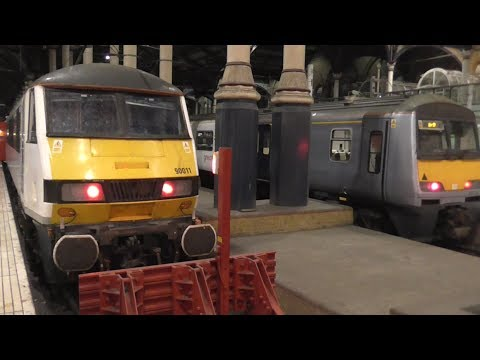 Trains at London Liverpool Street - 13/04/17