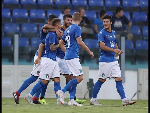 Highlights Under 21: Italia-Albania 3-1 (11 settembre 2018)