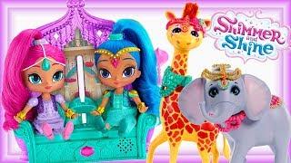 Shimmer i Shine & Enchantimals • Afrykańskie Zwierzęta !!! • Adopcja zwierząt • bajki dla dzieci